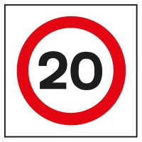 Twenty is plenty - watch your speed when driving around Surlingham