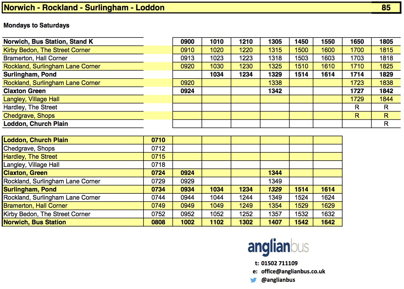 219 bus timetable barnsley for Timetable 85 sheffield