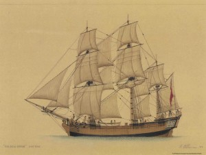 Golden Grove, another of the legendary First Fleet.