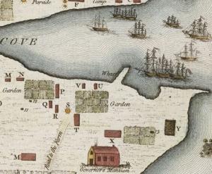 Sydney map 1789