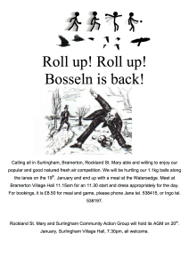 Roll up poster