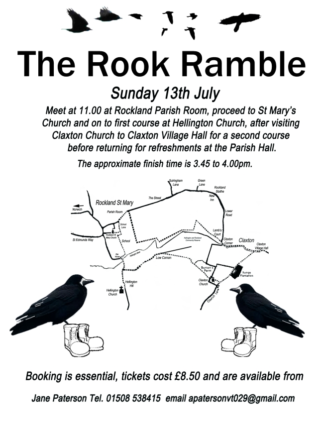 Rook Ramble 13th July