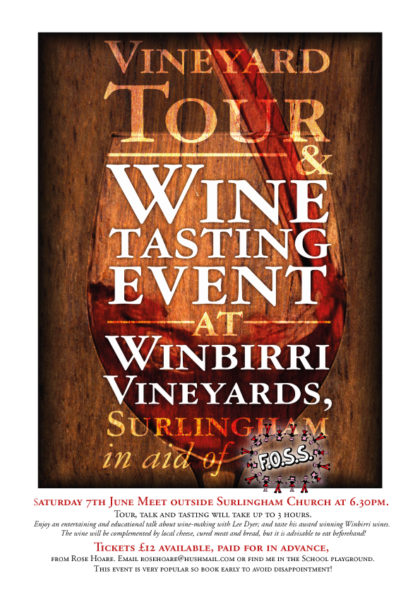 Winbirri Vineyard Tour & Wine Tasting - Saturday 7th June