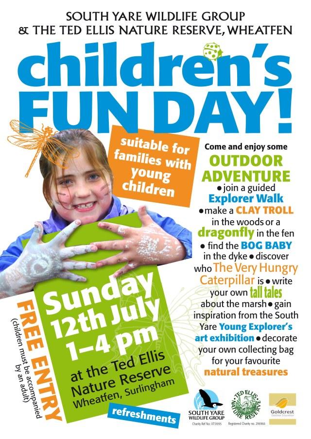 Children's Fun Day July2015 A4