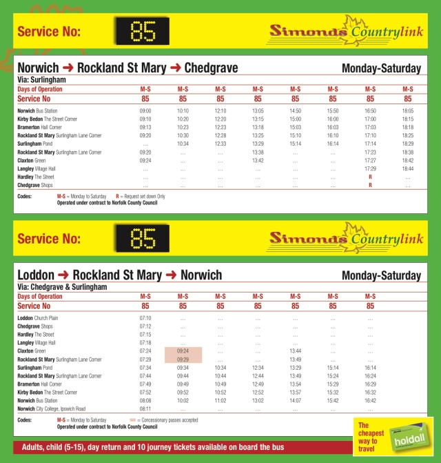 Service 85