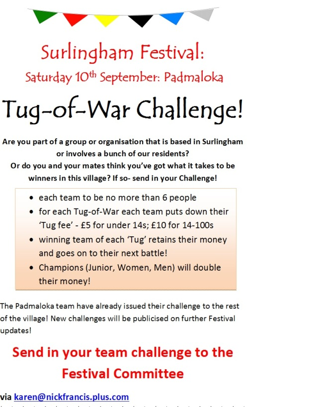 Tug of War Poster