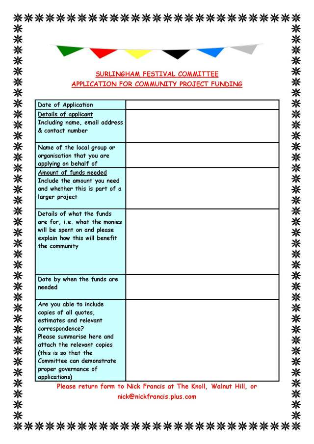 surlingham-festival-committee-application-for-community-funding