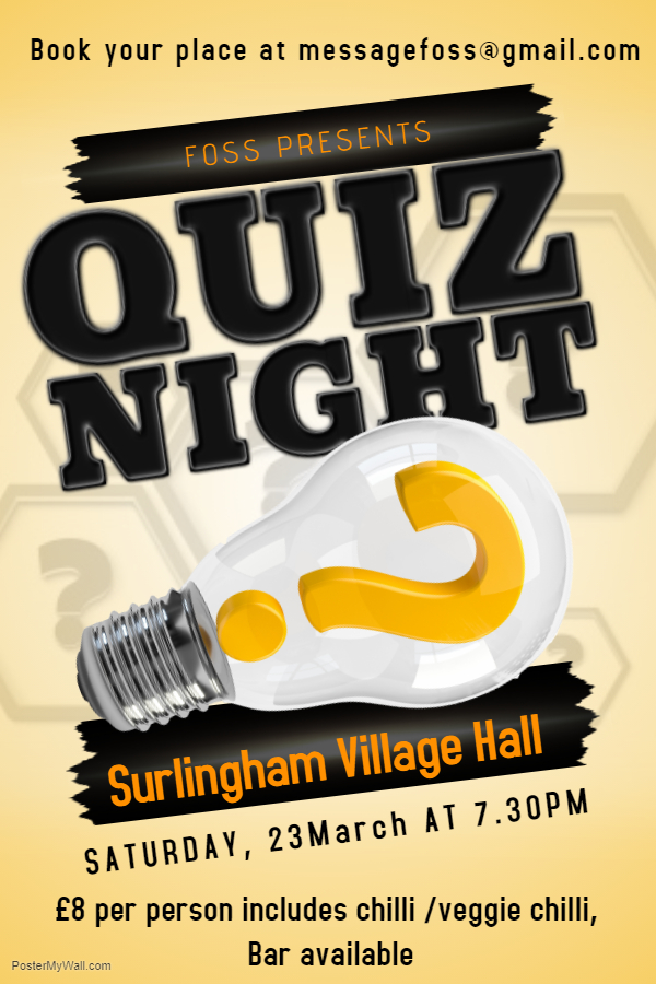 Copy of Quiz Night Event Poster Template - Made with PosterMyWall