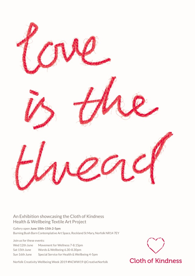 Love is the thread Exhibition Flyer for email